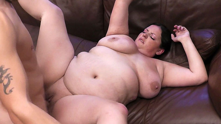 Bbw Beauty Snapped And Torn Up