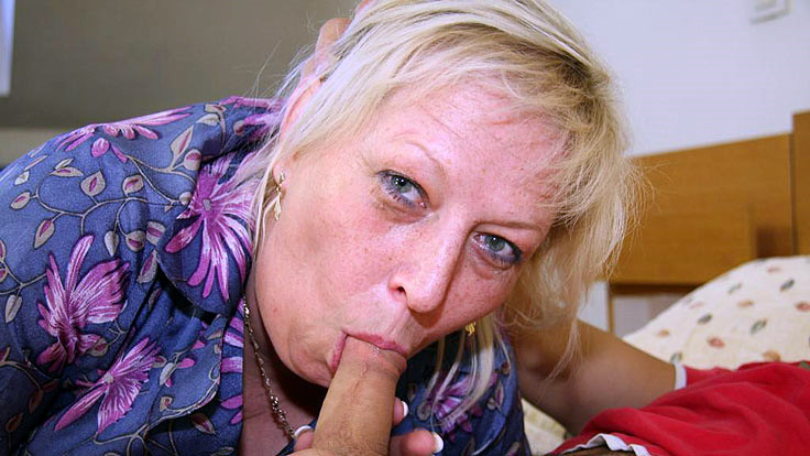 Humungous Grandmother Engulfs Firm Penis