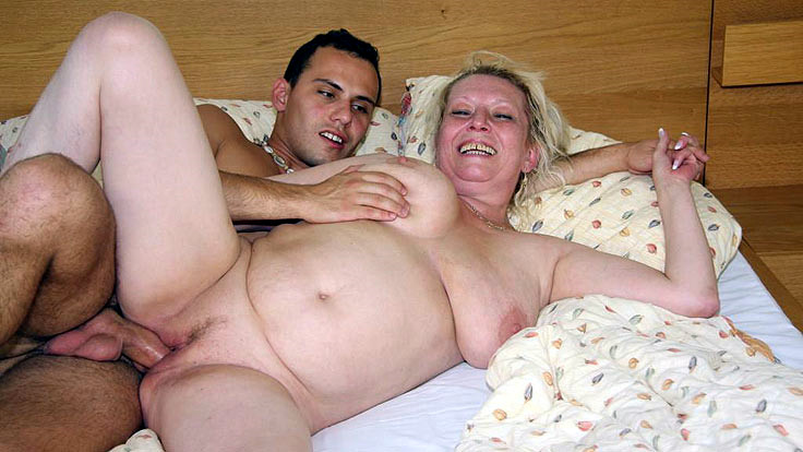 Lusty Grandmother Cooter Torn Up