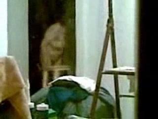 Spying My Mum Thru Window