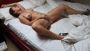 Wifey At House Finger-tickling Herself