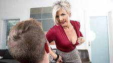 Constance Cracks His Mature Girl Virgin